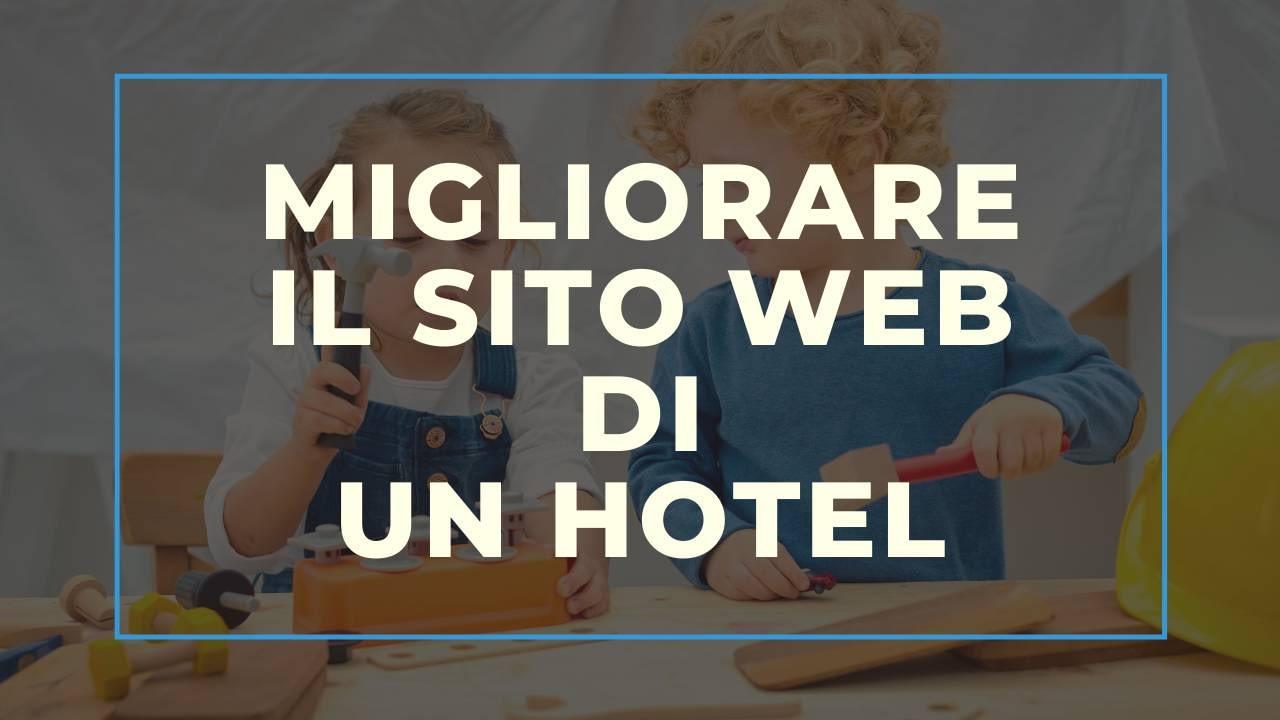 Migliorare il sito web di un hotel
