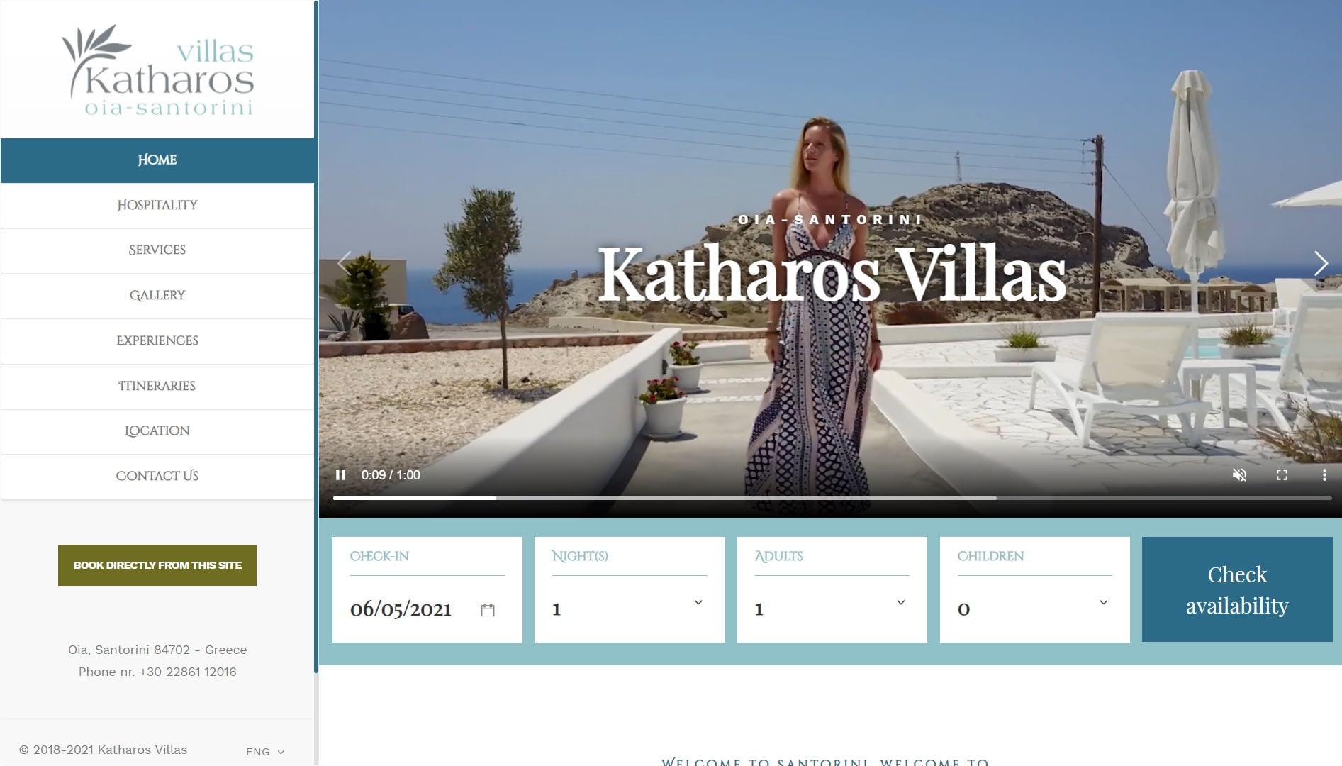 Realizzazione Sito web per resort e villaggi turistici 6