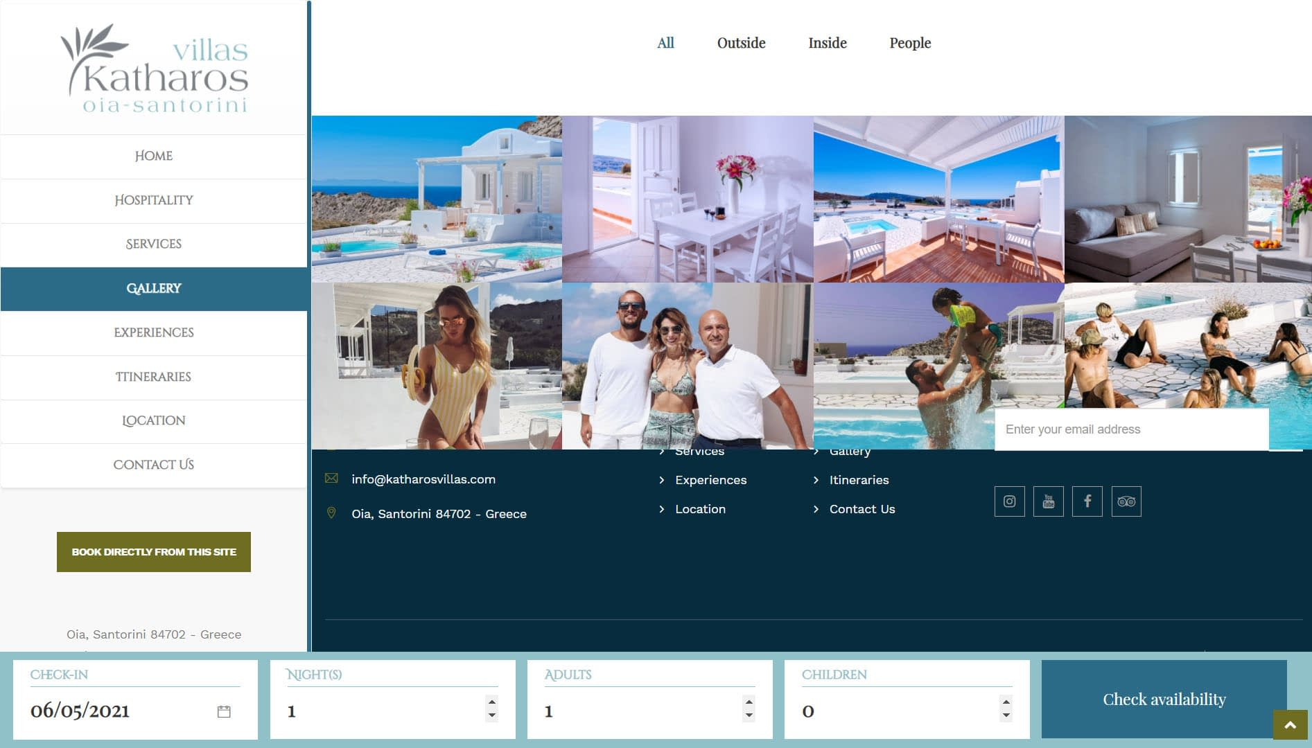 Realizzazione Sito web per resort e villaggi turistici 3