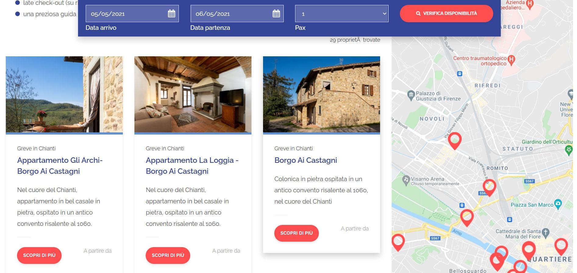 Realizzazione sito web per property Manager: Flo Apartments 6