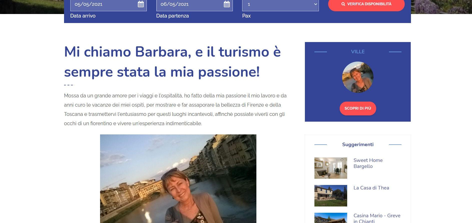 Realizzazione sito web per property Manager: Flo Apartments 4