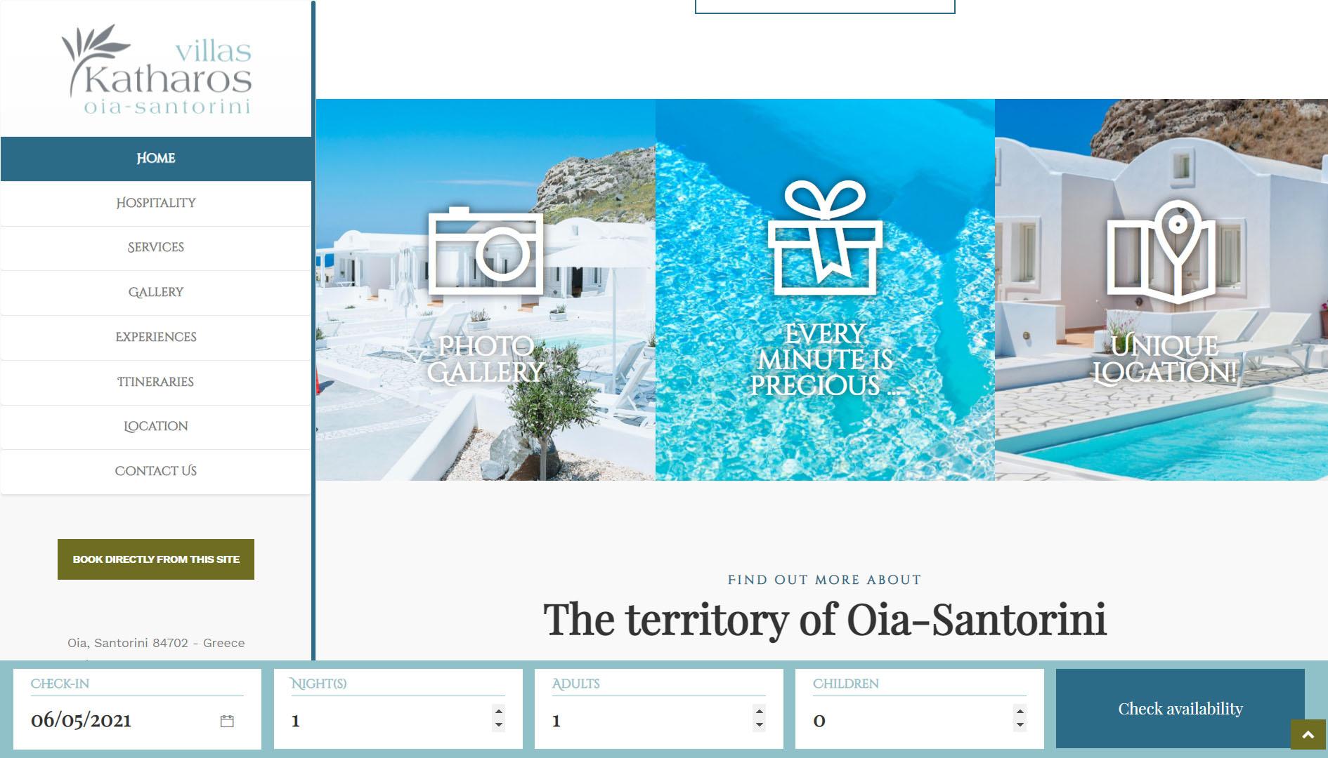 Realizzazione Sito web per resort e villaggi turistici 5