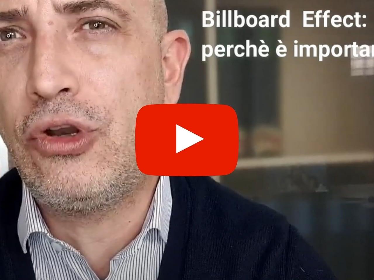 Conosci il Billboard Effect?