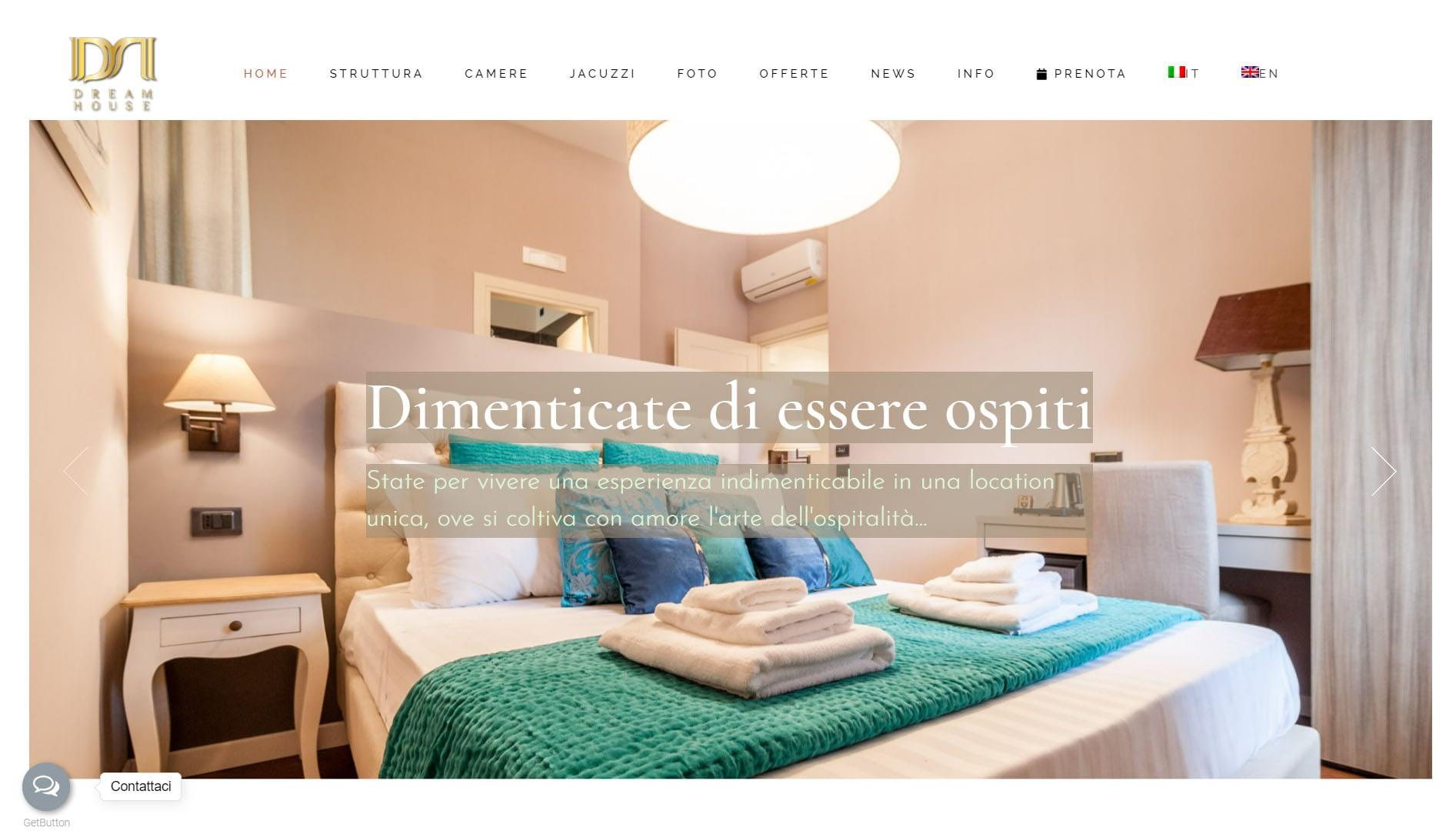 Sito web per bed and breakfast in Campania 6